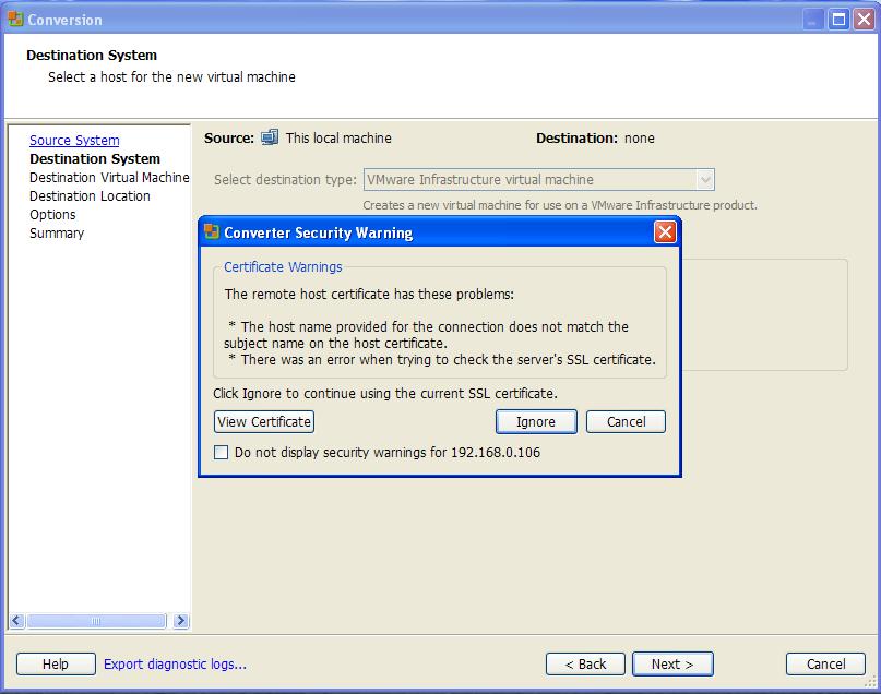 Как сделать копию vmware 290