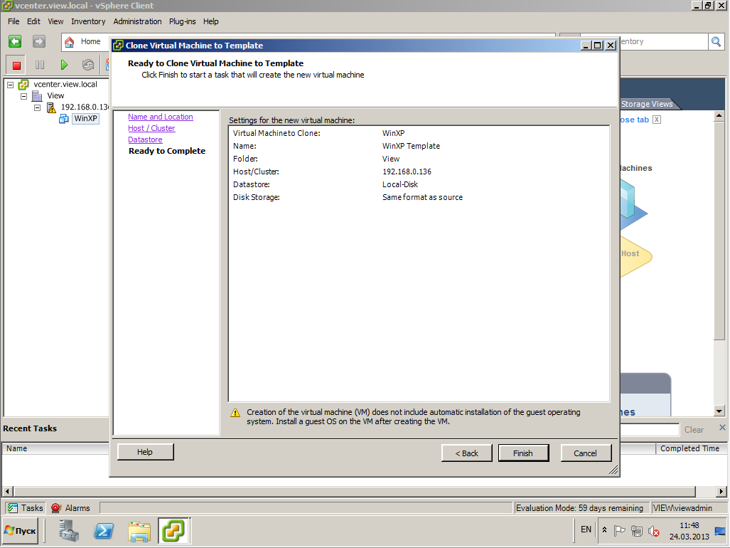 VMware View XP 28
