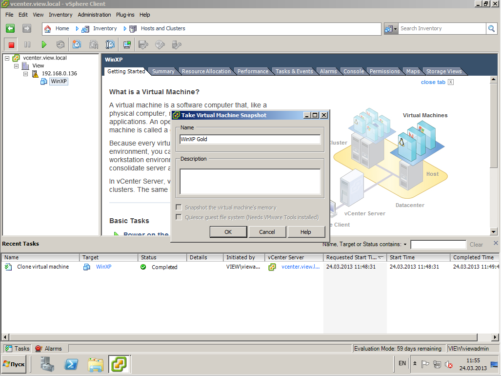 VMware View XP 31