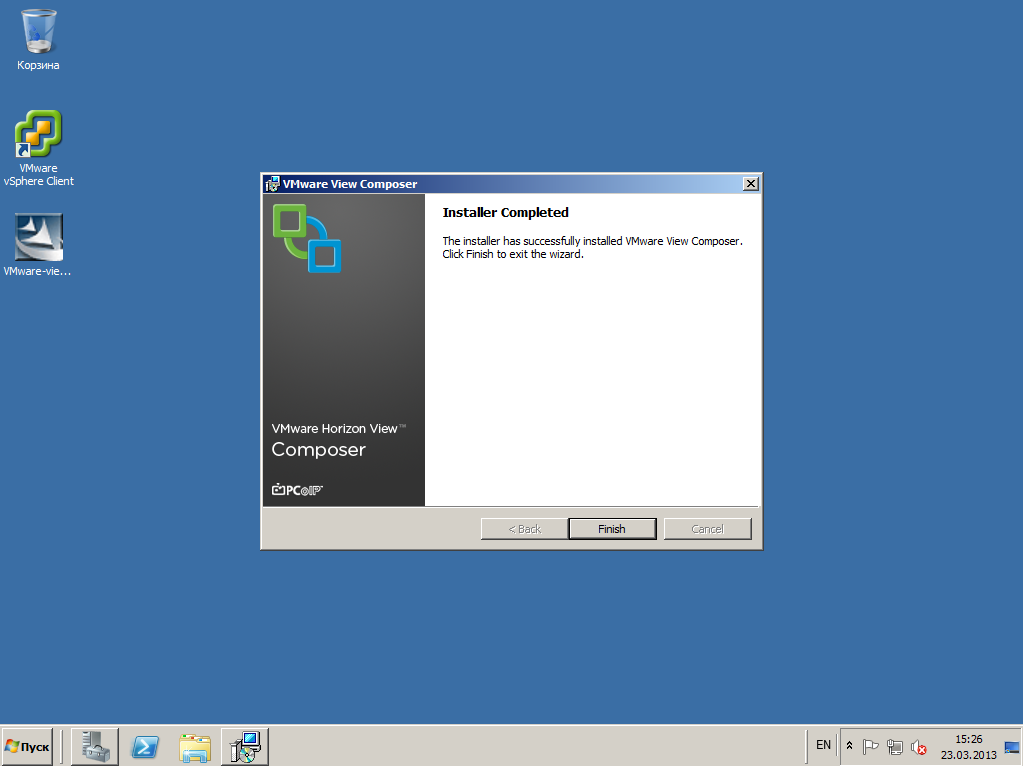 VMware View composer 16
