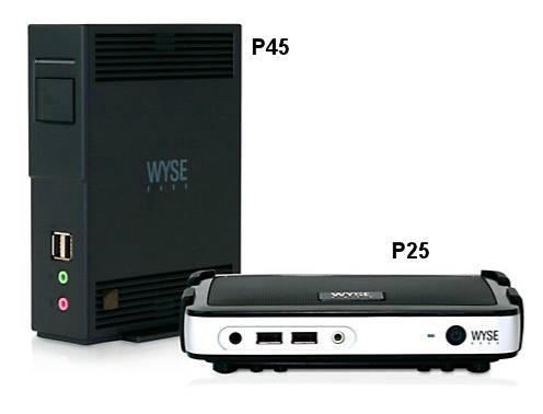 Wyse P25 P45
