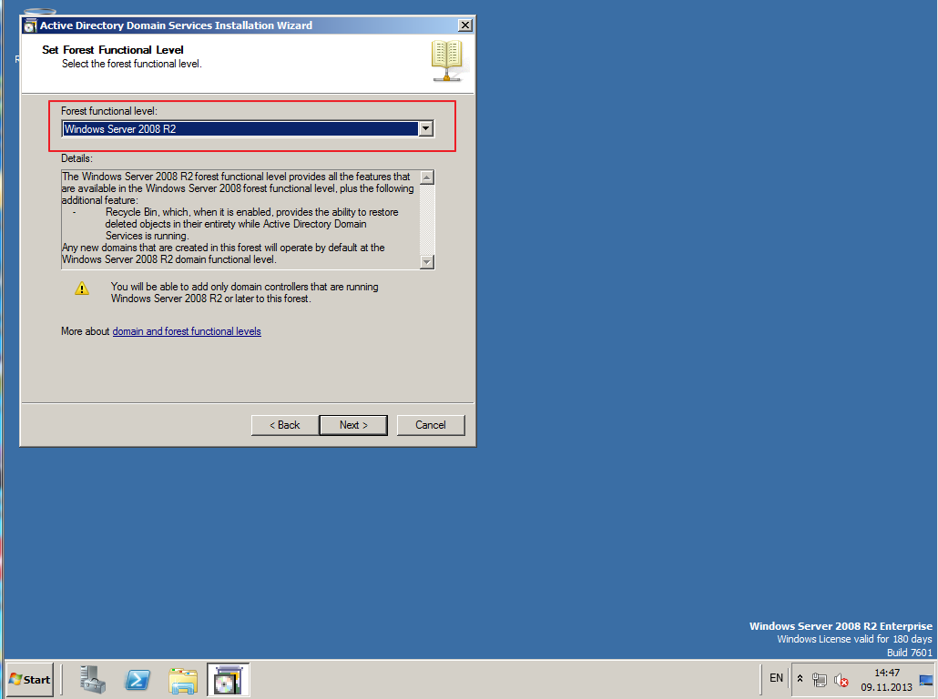Citrix XenDesktop 7 Active Directory 008