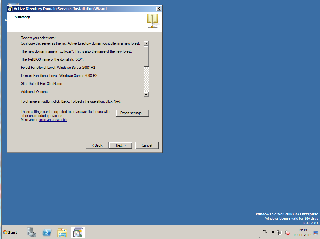 Citrix XenDesktop 7 Active Directory 013