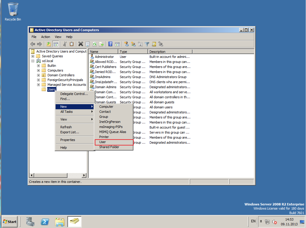 Citrix XenDesktop 7 Active Directory 018