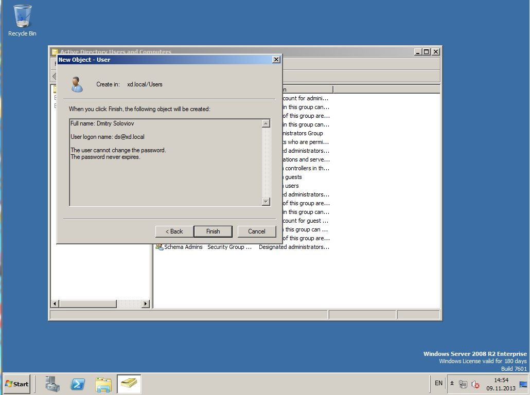 Citrix XenDesktop 7 Active Directory 021