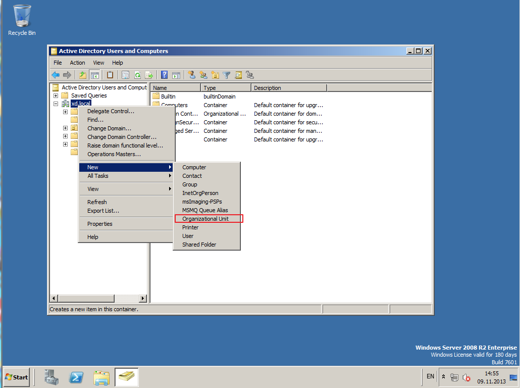 Citrix XenDesktop 7 Active Directory 022