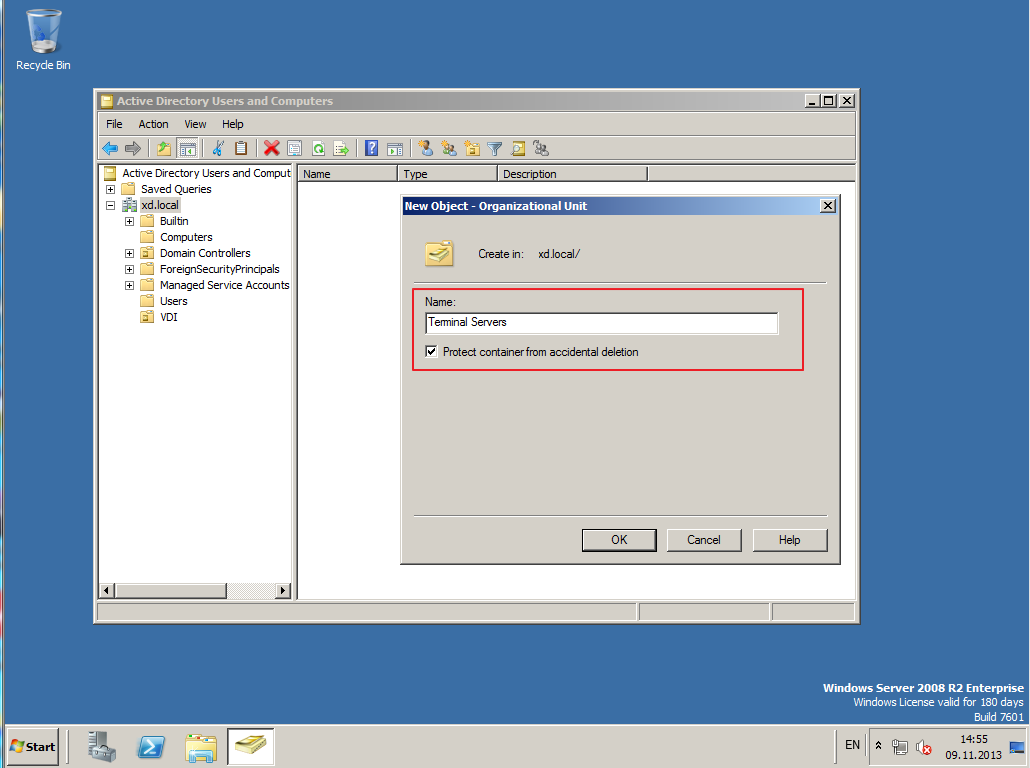 Citrix XenDesktop 7 Active Directory 024