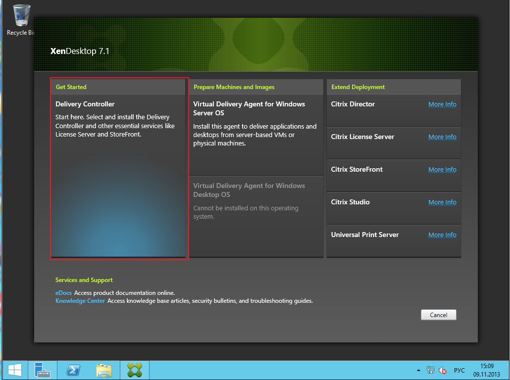 Citrix XenDesktop 7 Installation 008
