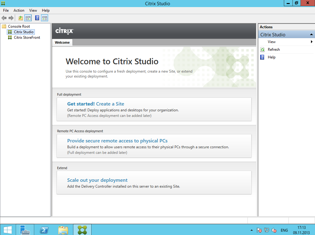 Citrix XenDesktop 7 Installation DC 002