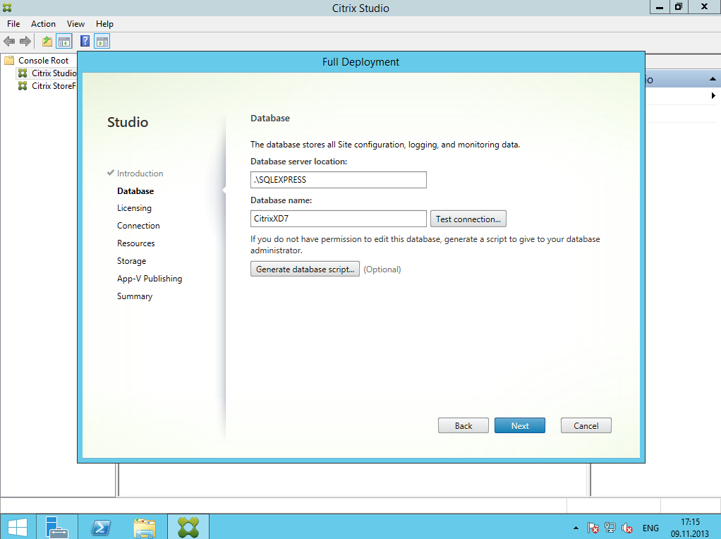 Citrix XenDesktop 7 Installation DC 004