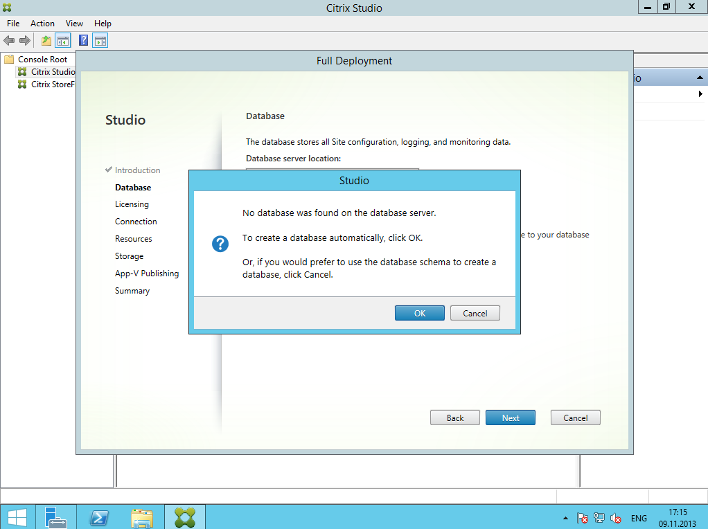 Citrix XenDesktop 7 Installation DC 005