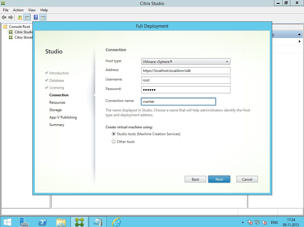 Citrix XenDesktop 7 Installation DC 022