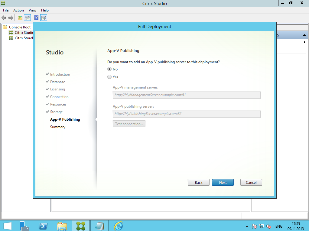 Citrix XenDesktop 7 Installation DC 026