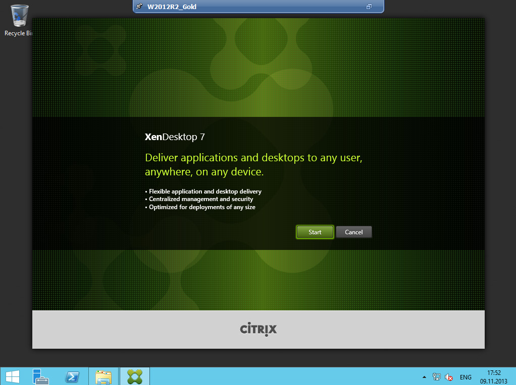 Citrix XenDesktop 7 VDA agent 005