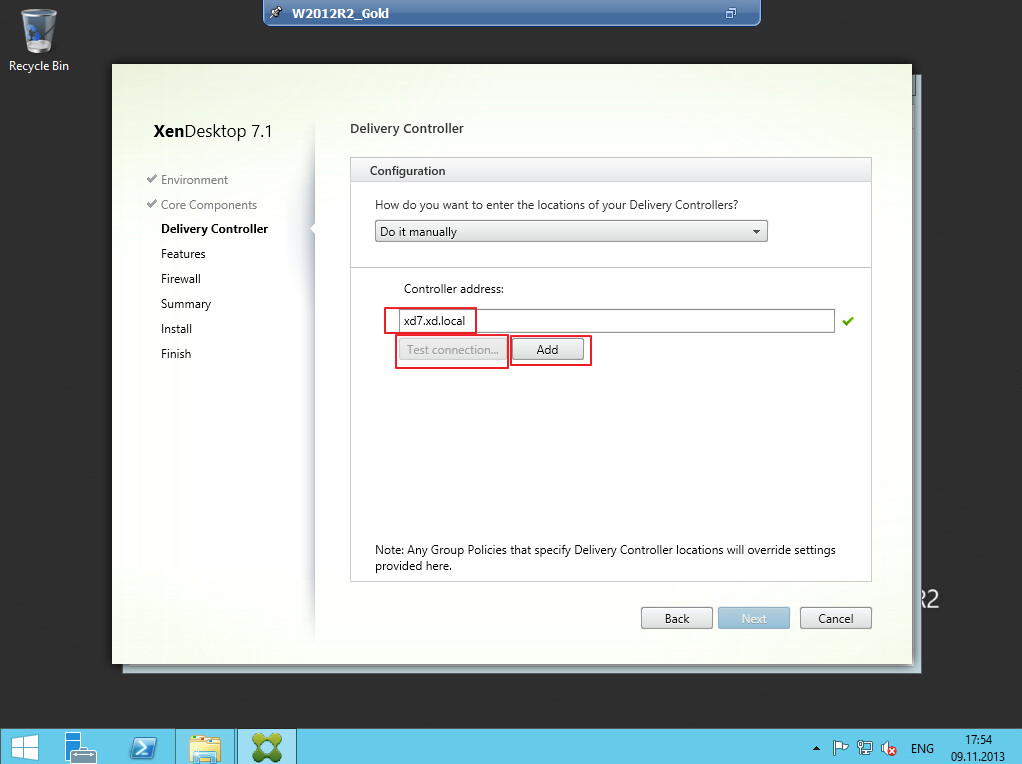 Citrix XenDesktop 7 VDA agent 009
