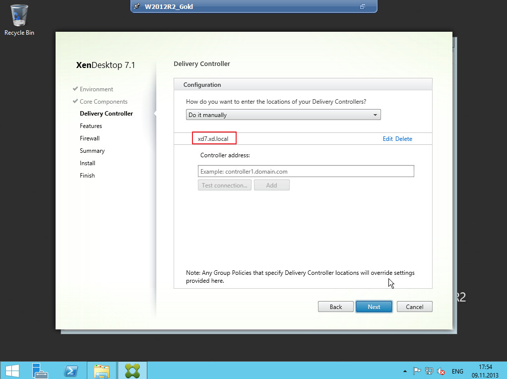 Citrix XenDesktop 7 VDA agent 010