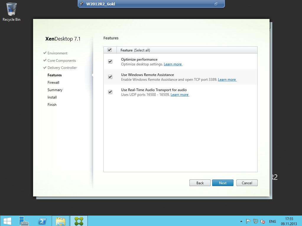 Citrix XenDesktop 7 VDA agent 011
