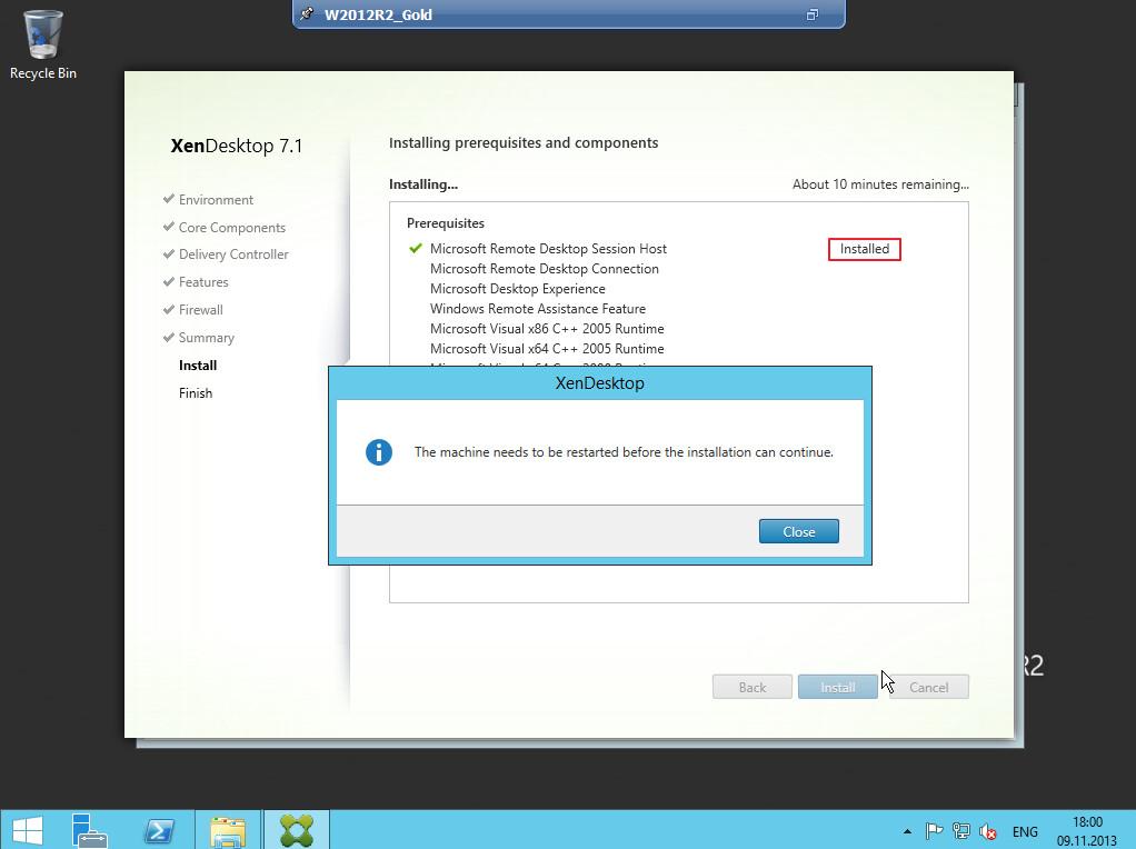 Citrix XenDesktop 7 VDA agent 014