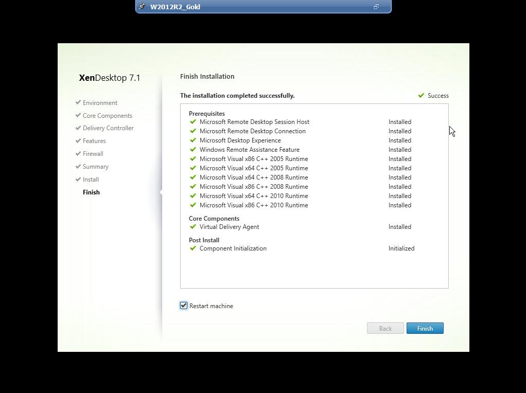 Citrix XenDesktop 7 VDA agent 015