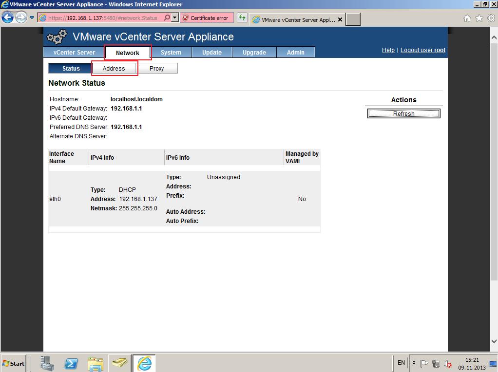 Citrix XenDesktop 7 vCenter server 5-5 006