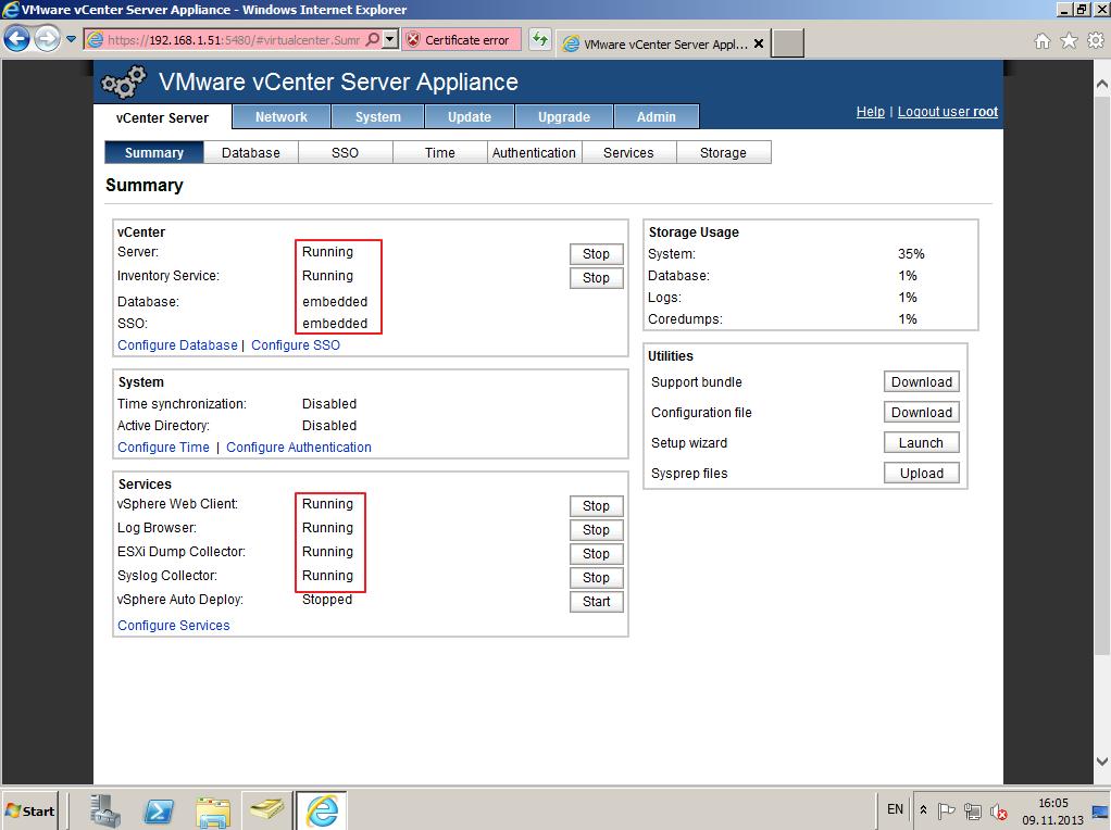 Citrix XenDesktop 7 vCenter server 5-5 012