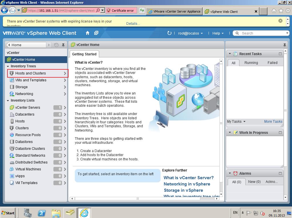 Citrix XenDesktop 7 vCenter server 5-5 015