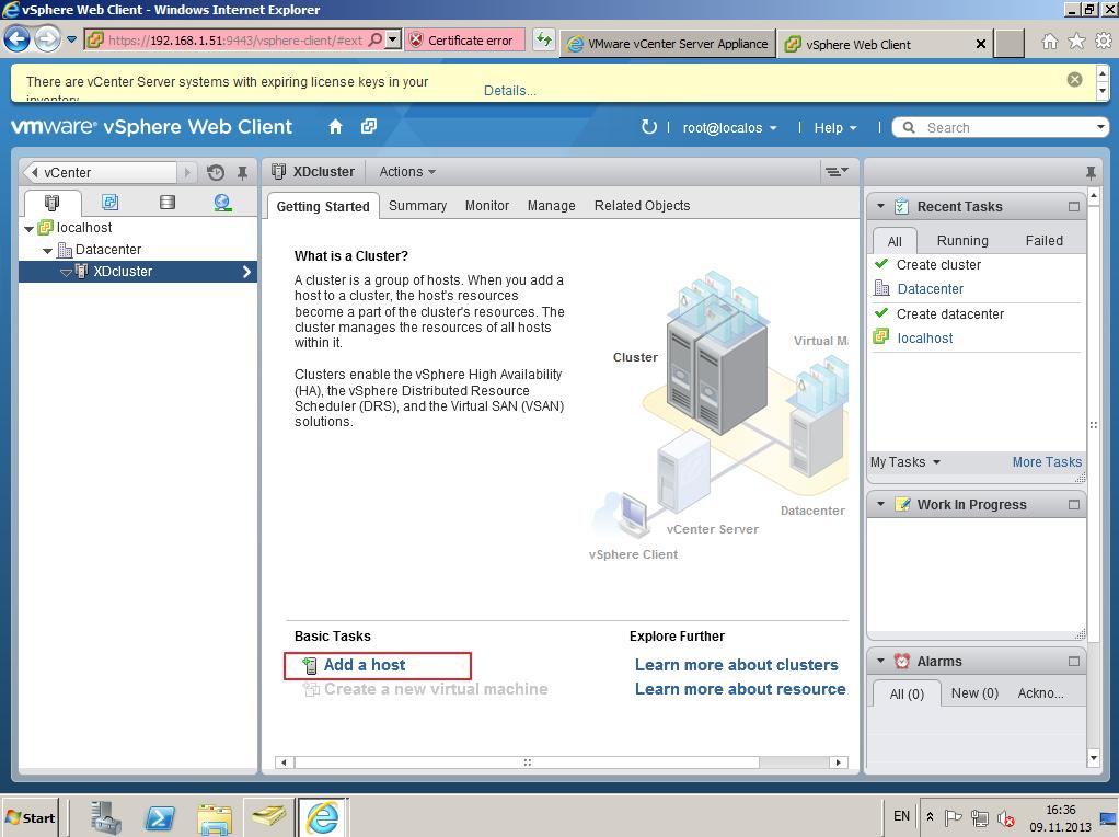 Citrix XenDesktop 7 vCenter server 5-5 020