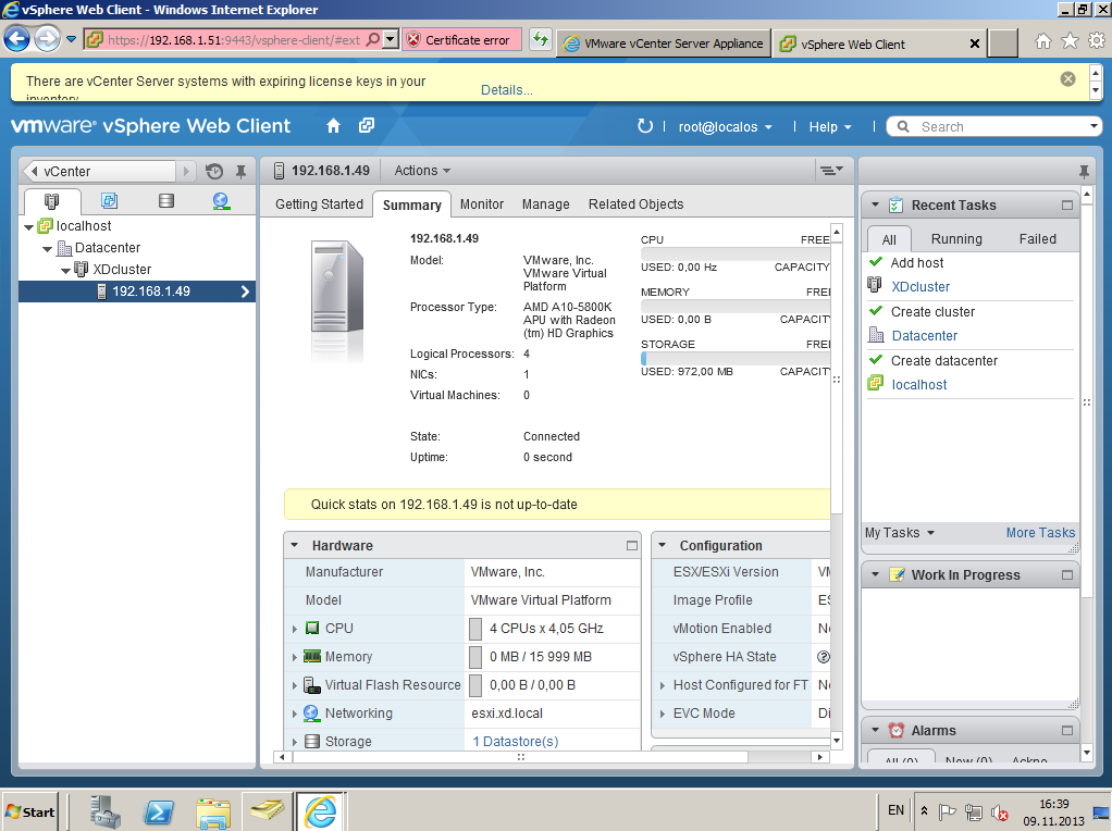 Citrix XenDesktop 7 vCenter server 5-5 028