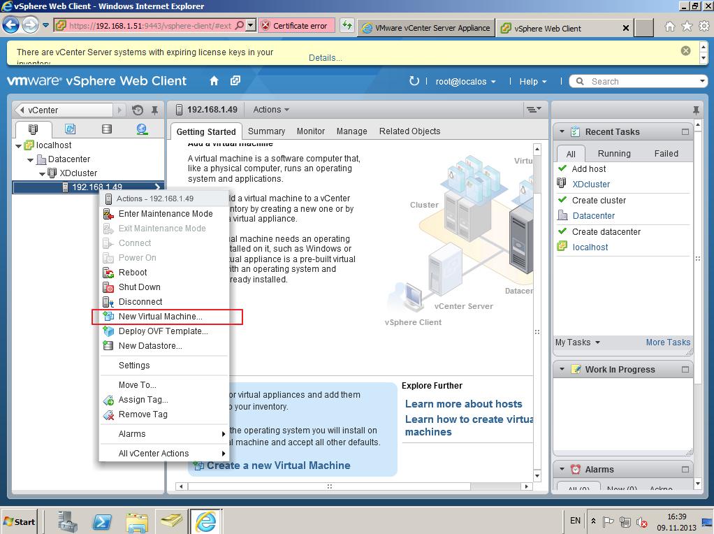 Citrix XenDesktop 7 vCenter server 5-5 029