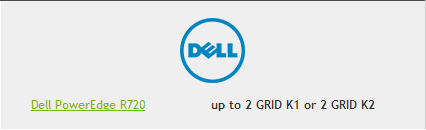 Dell for Nvidia GRID