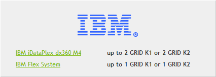 IBM for Nvidia GRID