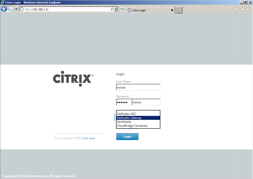 Citrix XenDesktop 7 Access Gateway 005