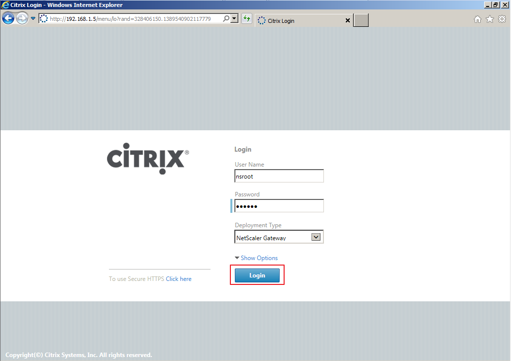 Citrix XenDesktop 7 Access Gateway 011