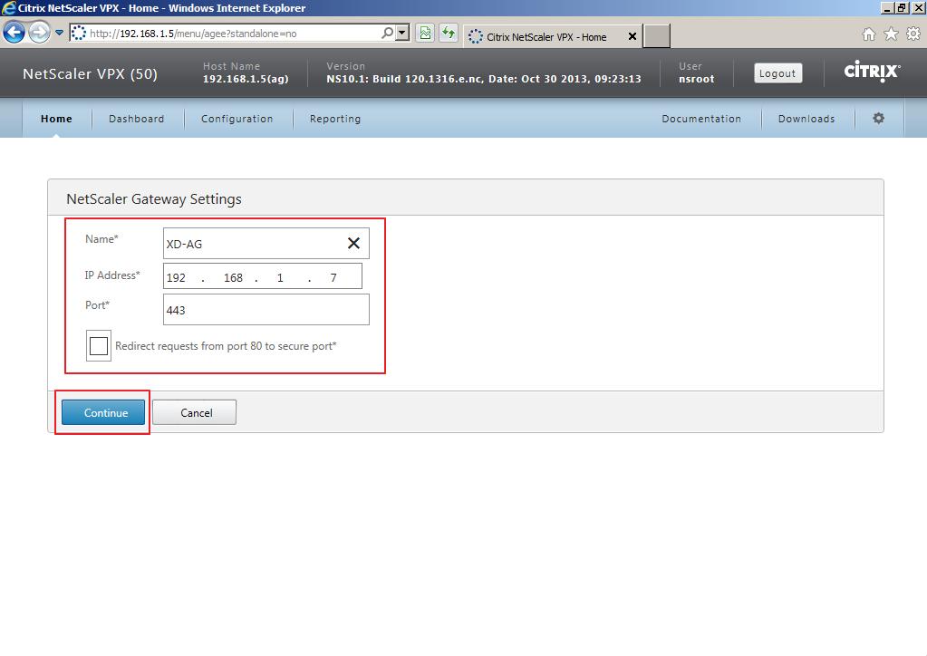 Citrix XenDesktop 7 Access Gateway 013