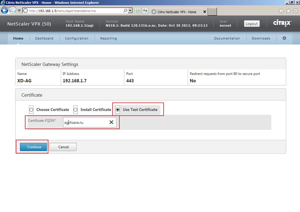 Citrix XenDesktop 7 Access Gateway 014
