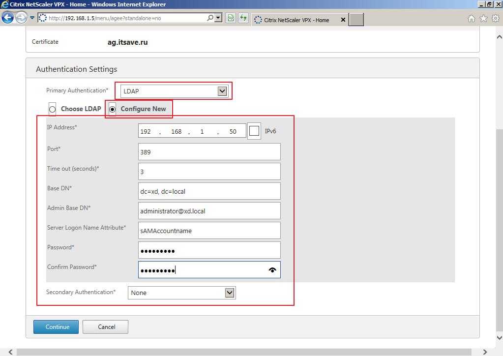 Citrix XenDesktop 7 Access Gateway 015