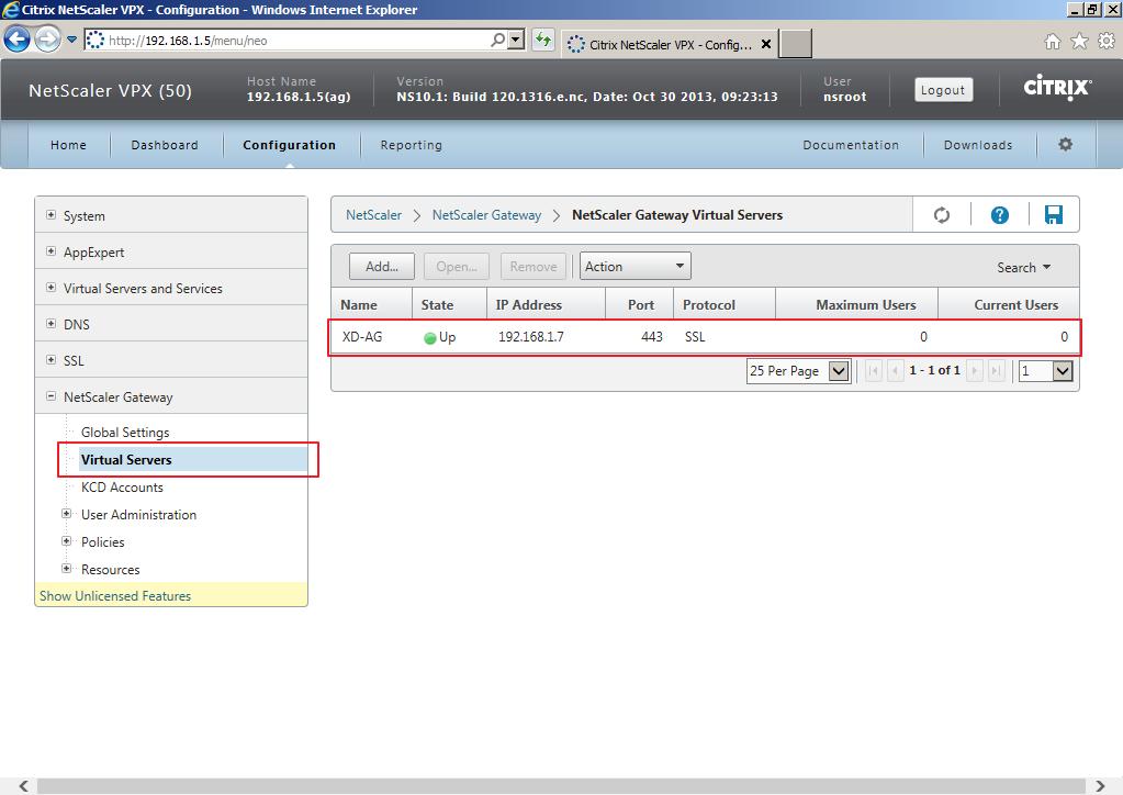 Citrix XenDesktop 7 Access Gateway 017
