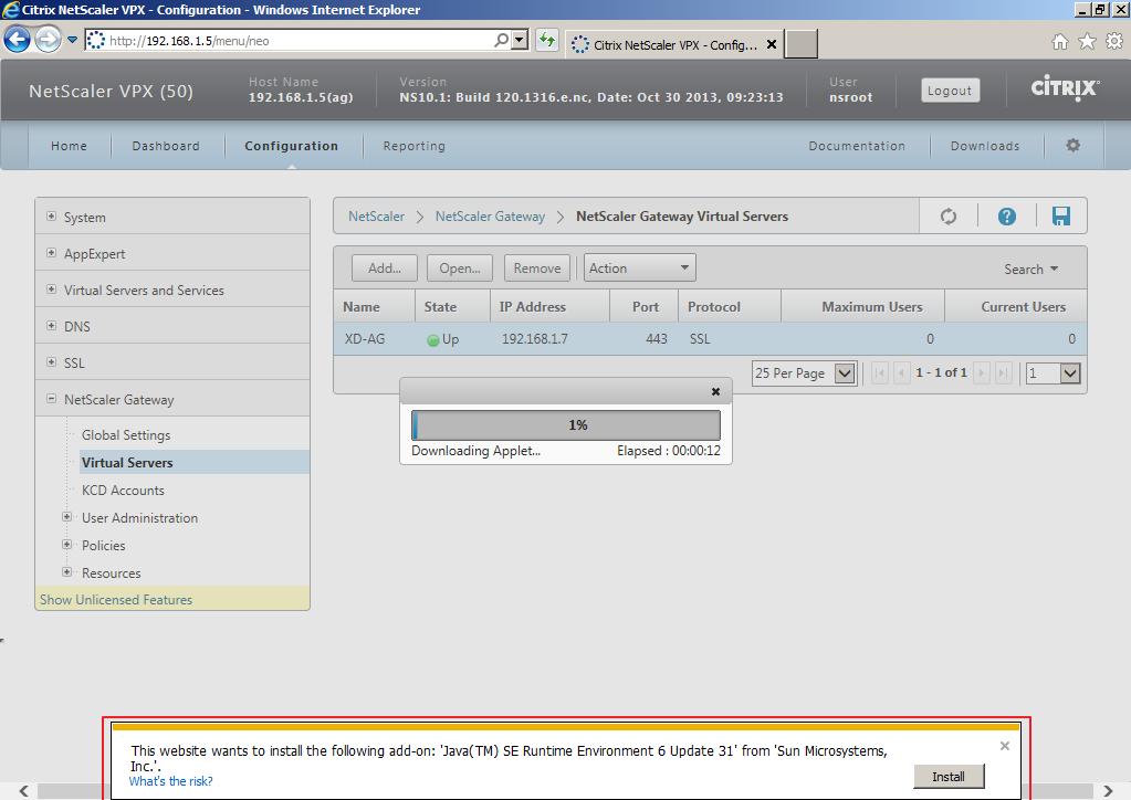Citrix XenDesktop 7 Access Gateway 018