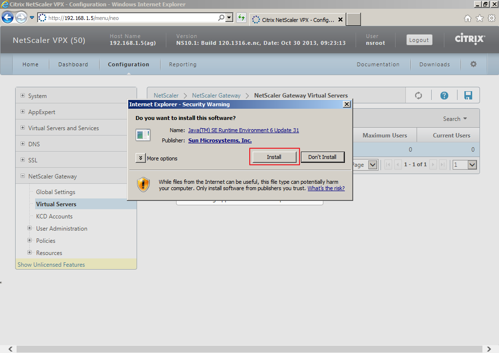 Citrix XenDesktop 7 Access Gateway 019