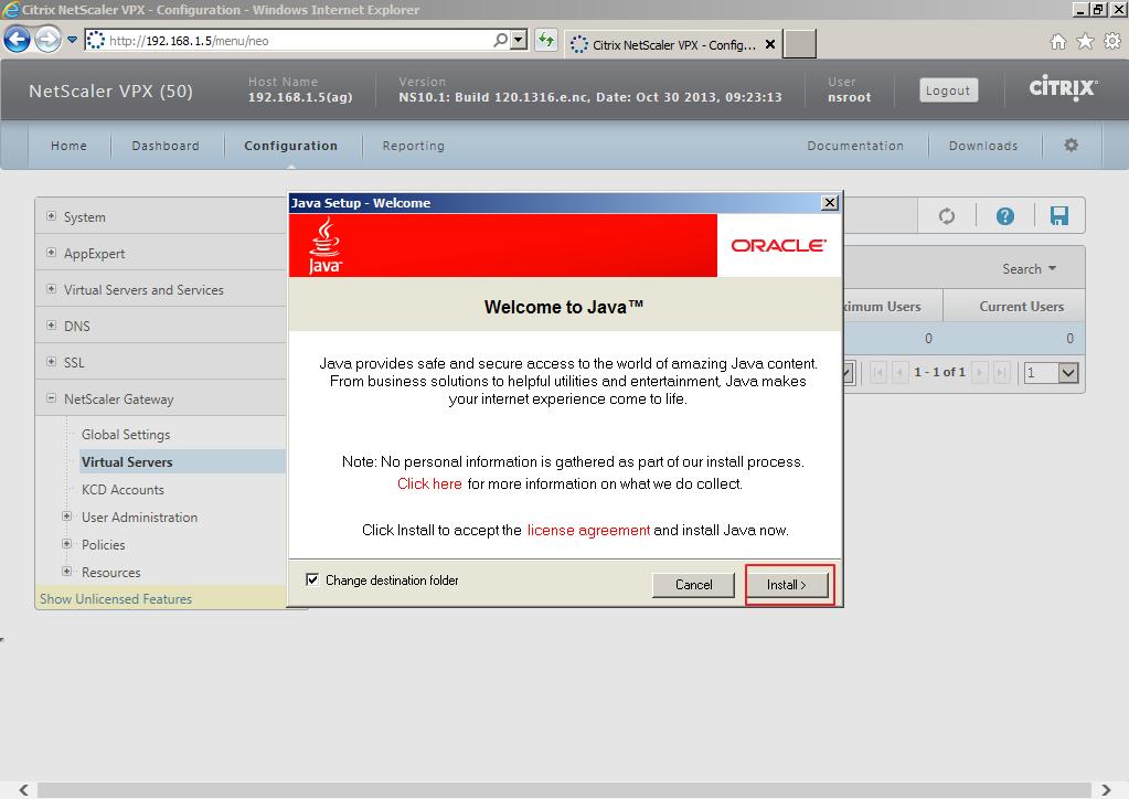 Citrix XenDesktop 7 Access Gateway 020