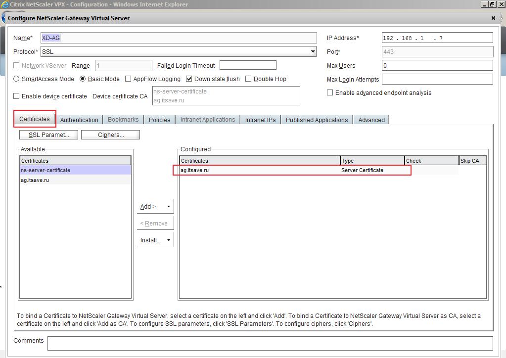 Citrix XenDesktop 7 Access Gateway 024