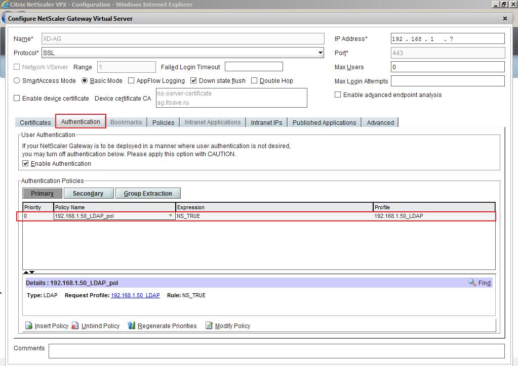 Citrix XenDesktop 7 Access Gateway 025