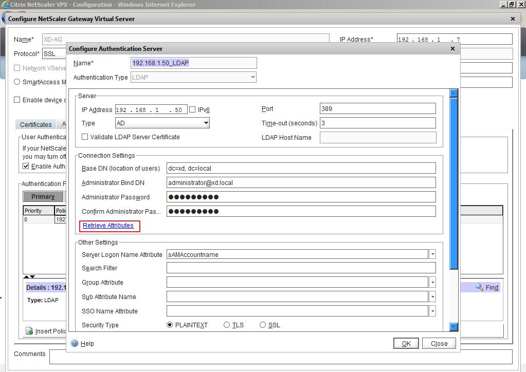 Citrix XenDesktop 7 Access Gateway 027