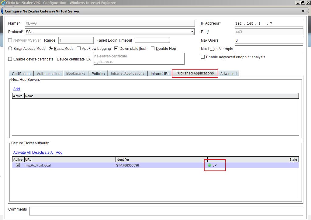 Citrix XenDesktop 7 Access Gateway 029