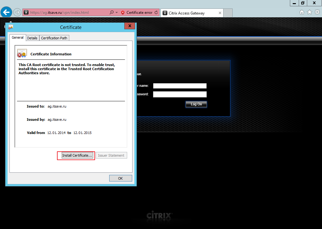 Citrix XenDesktop 7 Access Gateway 034