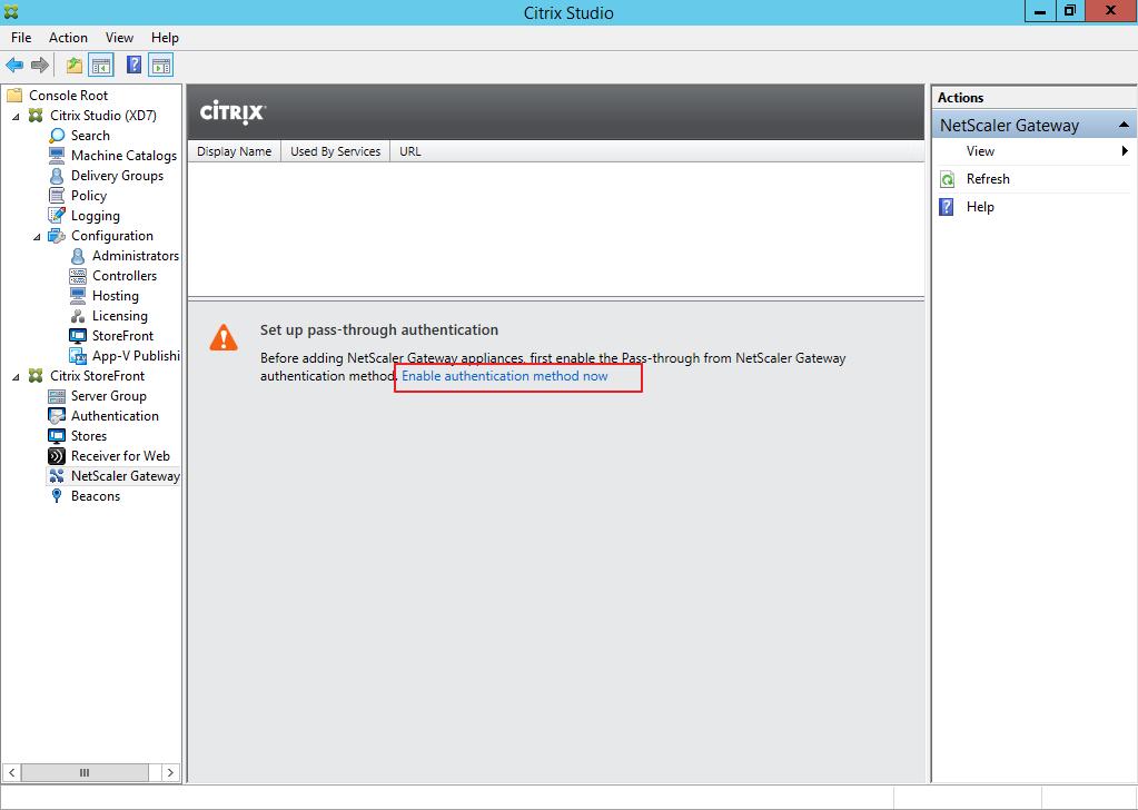 Citrix XenDesktop 7 Access Gateway 039