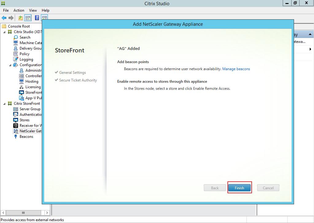 Citrix XenDesktop 7 Access Gateway 044