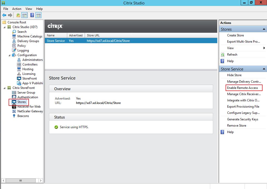 Citrix XenDesktop 7 Access Gateway 057