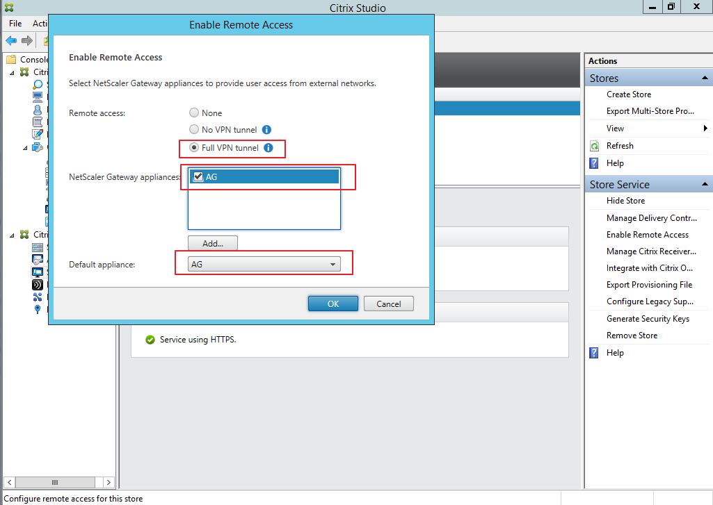 Citrix XenDesktop 7 Access Gateway 058