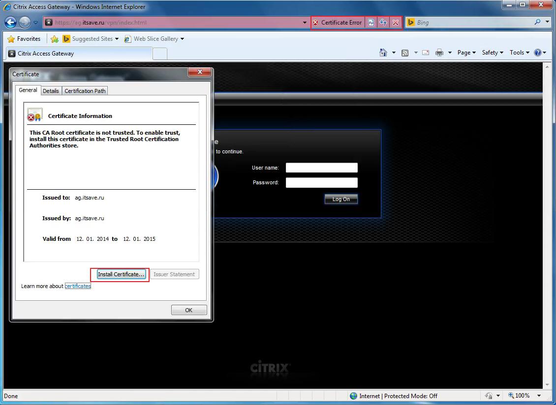 Citrix XenDesktop 7 Access Gateway 061